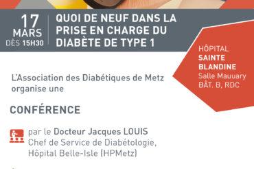 Conférence sur le diabète