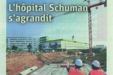 [Article] L'hôpital Schuman s'agrandit