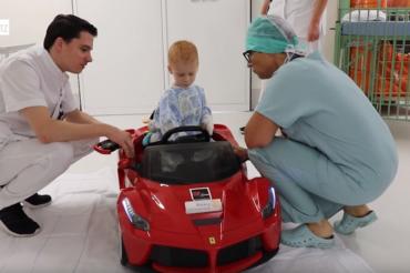 [REPORTAGE] Des voiturettes au bloc opératoire